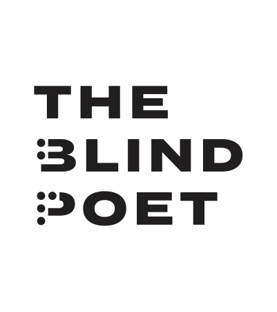 The Blind Poet text logo